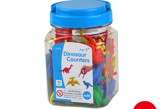 Edx Education Dinosaur Counters Jar