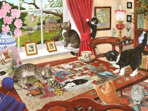 The House of Puzzles - Puzzling Paws - 1000 piece Jigsaw