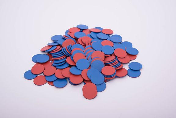 Edx Education Plastic 2-Colour Counters