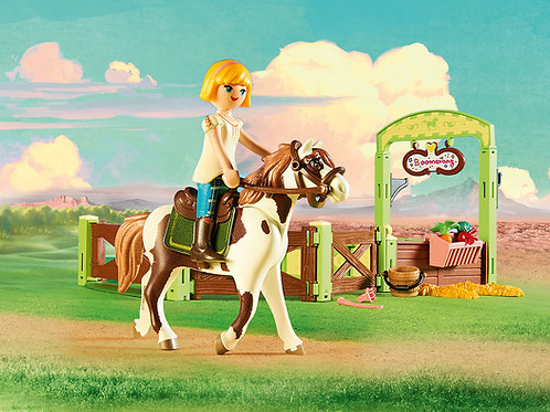 Playmobil DreamWorks Spirit 9480 Abigail and Boomerang