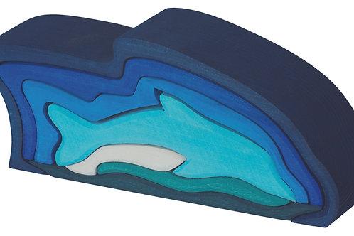 Gluckskafer 9 Piece Dolphin