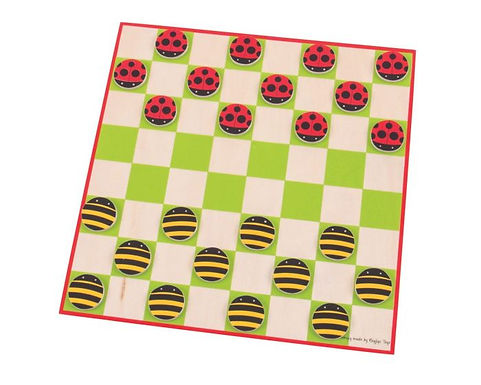 BigJigs Ladybird & Bee Draughts