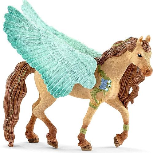 Schleich Decorated Pegasus Stallion