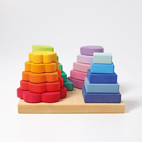 Grimms Stacking Game Shapes