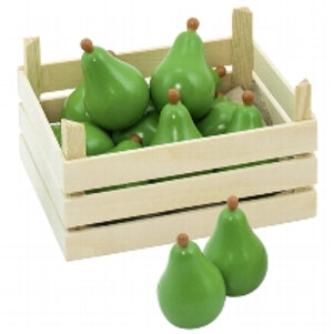 Goki Pears In Fruit Crate