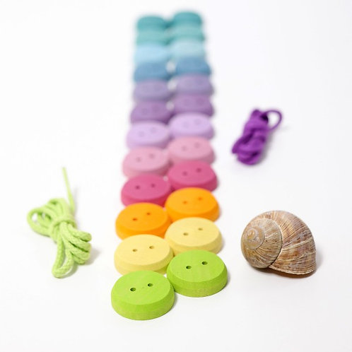 Grimms Small Pastel Buttons