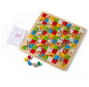 BigJigs Traditional Snakes & Ladders
