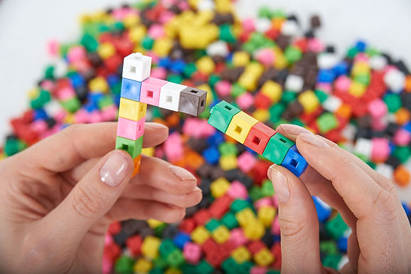 Edx Education Interlocking Cubes 1Cm