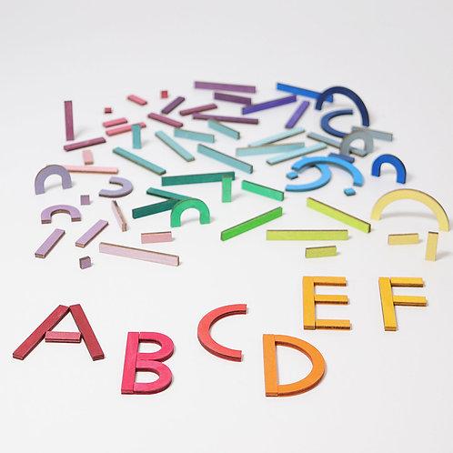 Grimms Building Alphabet