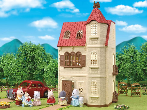 Sylvanian's The Red Roof Tower Home Gift Set