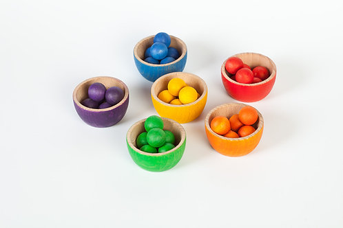 Grapat Bowls & Marbles