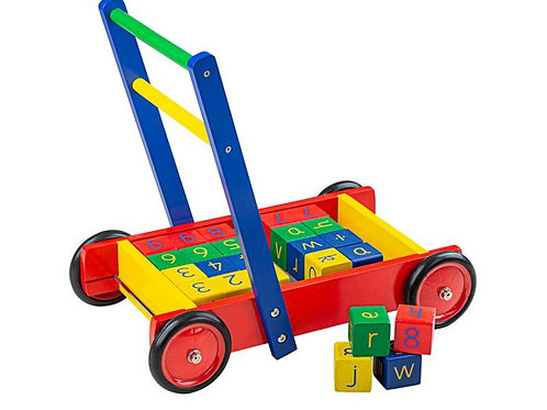 Tidlo Babywalker With ABC Blocks