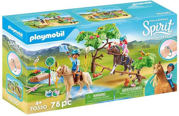 Playmobil DreamWorks Spirit 70330 River Challenge