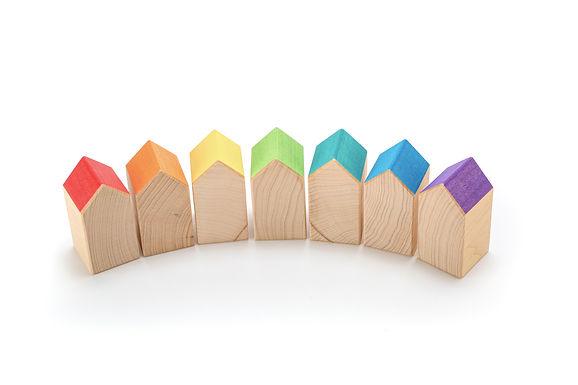 Ocamora 7 Rainbow Houses