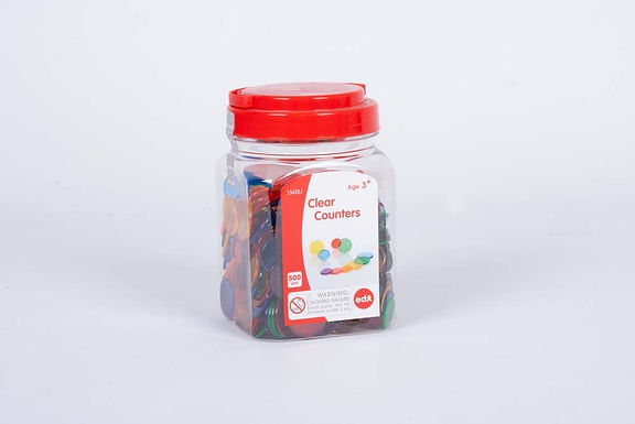 Edx Education Translucent Clear Counters