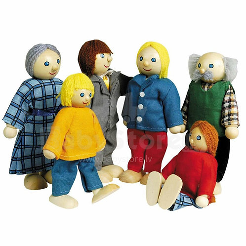 Goki Flexible Puppets City Family