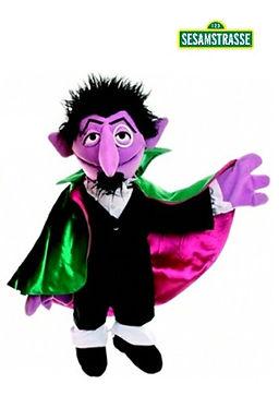 Living Puppets 65cm Count - Sesame Street