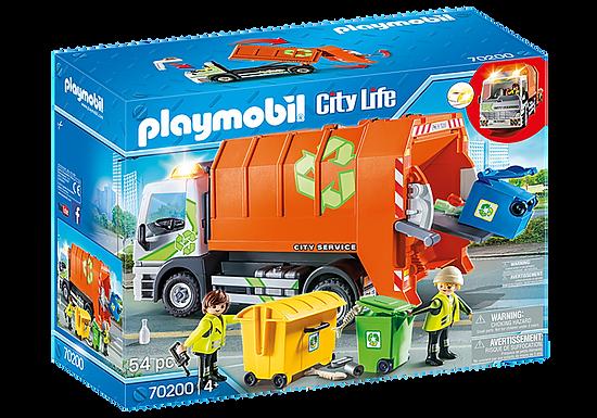Playmobil 70200 City Life Vehicle World Recycling Truck