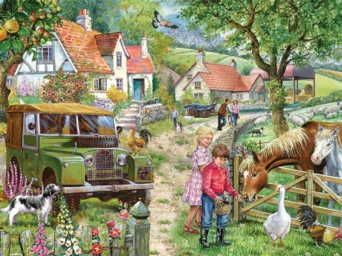 The House of Puzzles - Orchard Farm - 1000 piece Jigsaw
