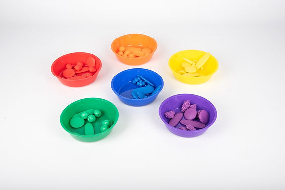 Edx Education Coloured Sorting Bowls