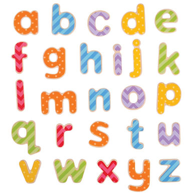 BigJigs Magnetic Letters (Lowercase)