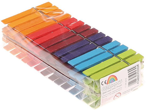 Grimms Rainbow Clothes Pegs