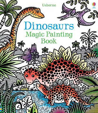 Books - Dinosaurs Magic Painting Book