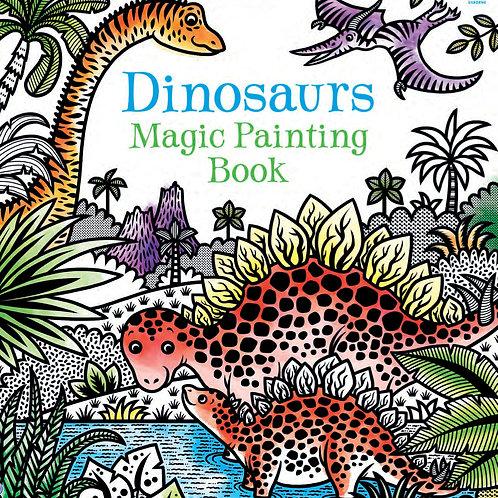 Books - Dinosaurs Magic Painting Book