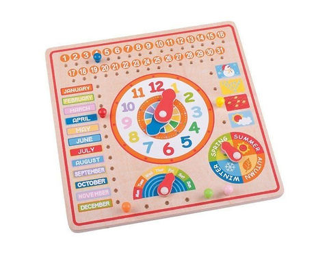 BigJigs Calendar and Clock