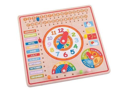 BigJigs Calendar and Clock