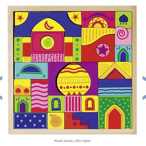 Goki Mosaic Puzzle, 1001 Nights