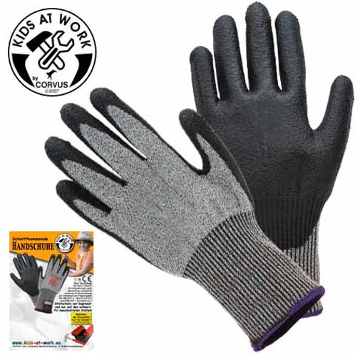 Tools For Juniors  Glove Cut Resistant Aged 8-10