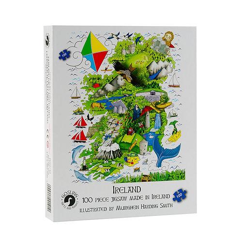 Gosling Games Junior Ireland Puzzle 100 Piece Puzzle