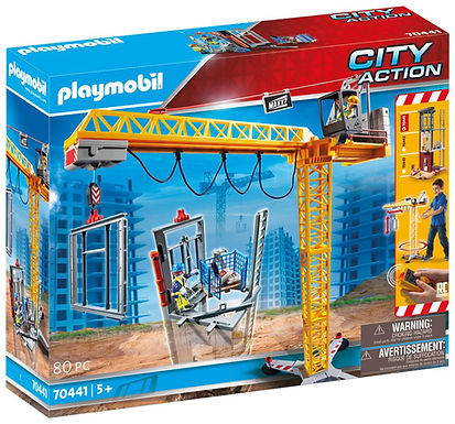 Playmobil 70441 City Action Construction Crane