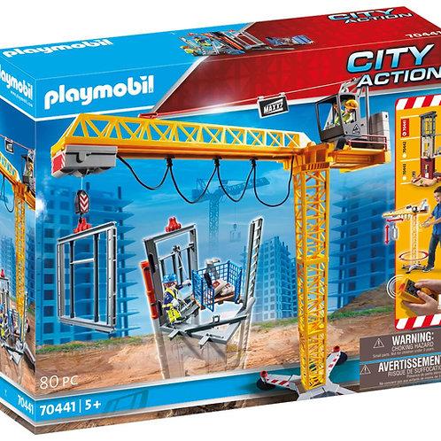 Playmobil 70441 City Action Construction Crane