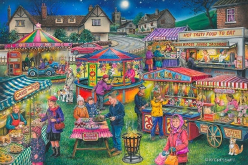 The House of Puzzles - No.13 VILLAGE FAYRE  - Find the Difference - 1000 piece