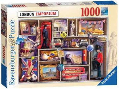 Ravensburger London Emporium 1000pc Jigsaw Puzzle
