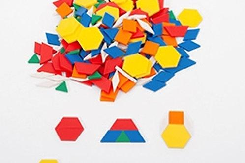 Edx Education Plastic Pattern Blocks