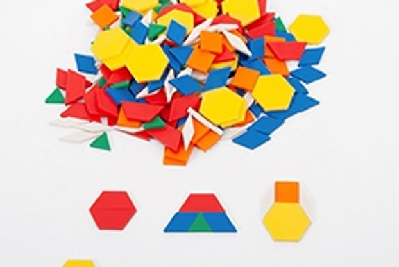 Edx Education Plastic Pattern Blocks
