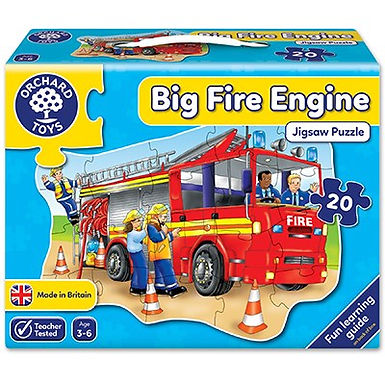 Orchard Toys - Big Fire Engine Jigsaw Puzzle