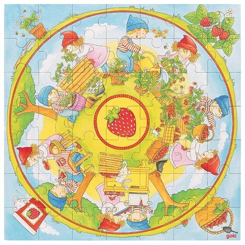 Goki Xxl Planting Strawberries
