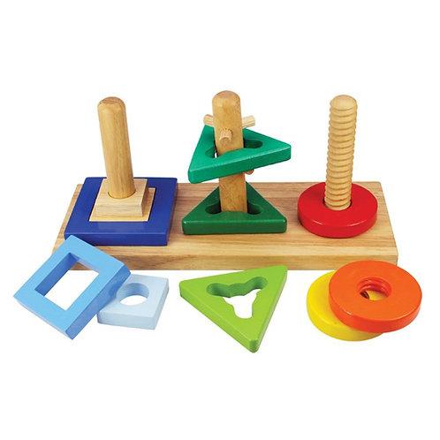 BigJigs Twist and Turn Puzzle