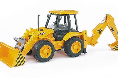 Bruder JCB 4CX Tractor W/Frontloader & Digger