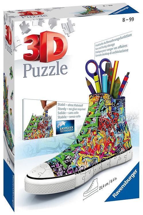 Ravensburger Graffiti Sneaker 3D Puzzle, 108pc Jigsaw Puzzle