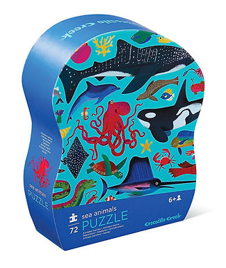 Crocodile Creek Sea Animals 72 piece jigsaw puzzle