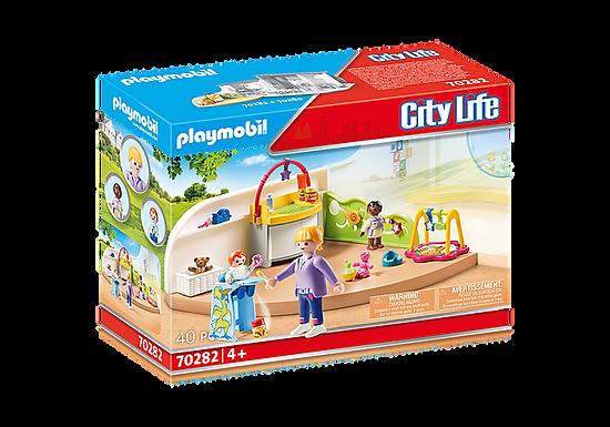 Playmobil 70282 City Life Pre-School Toddler Room
