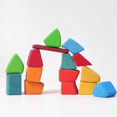 Grimms Colored Waldorf Blocks