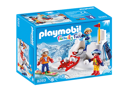 Playmobil 9283 Action Snowball Fight