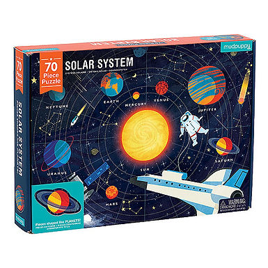 Mudpuppy's Geography Puzzle - Solar System
