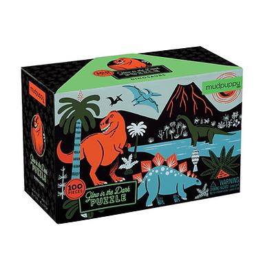 Mudpuppy's Dinosaurs Glow-In-the-Dark Puzzle